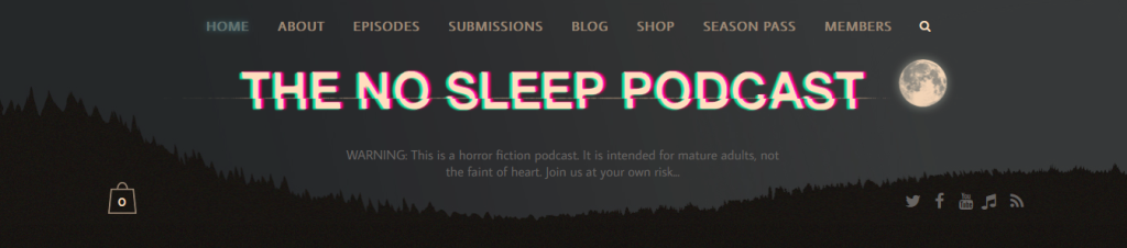 This image has an empty alt attribute; its file name is the-no-sleep-podcast-horror-magazine-submissions.png